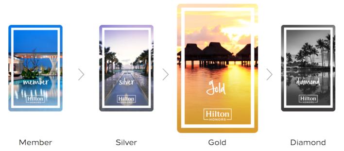 Hilton Gold Elite Status