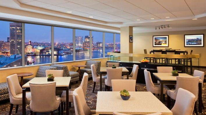 Sheraton Club Lounge Inner Harbor Baltimore