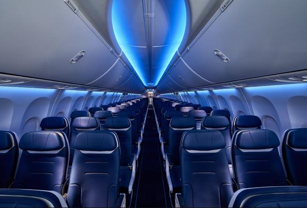 Southwest 737 MAX 8 Interior
