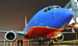Southwest Airlines Night Gate