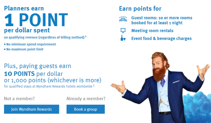 Wyndham Rewards GoMeet