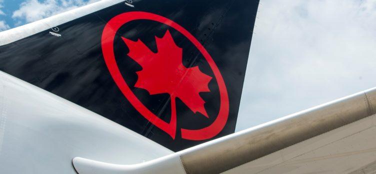 Air Canada B787 8 tail