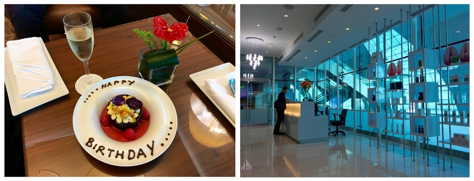 Emirates First Class A380 - First Class Lounge Extra Special Perks
