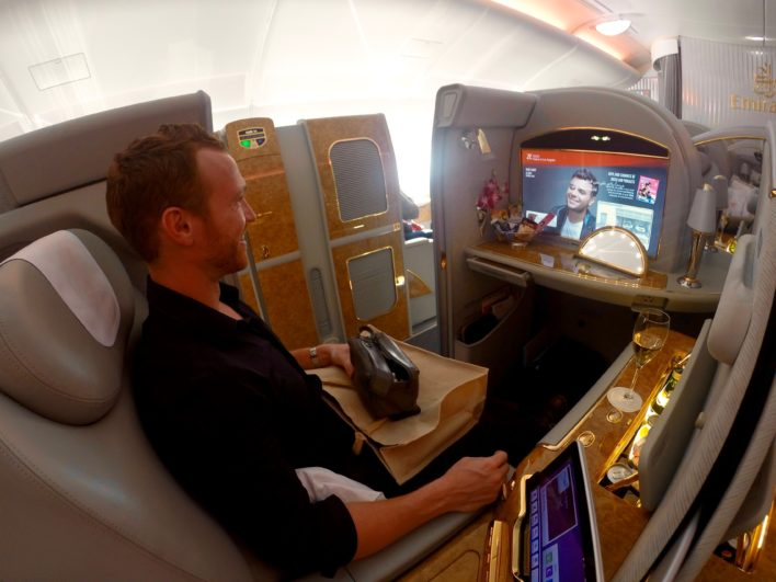Emirates First Class Suite A380