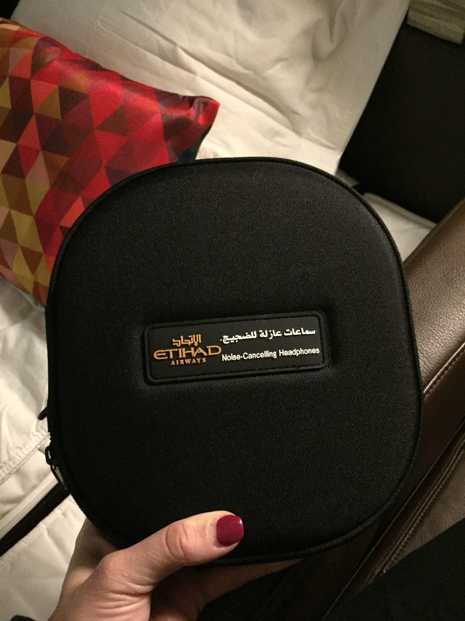 Etihad First Class Apartment - Bose Headphones