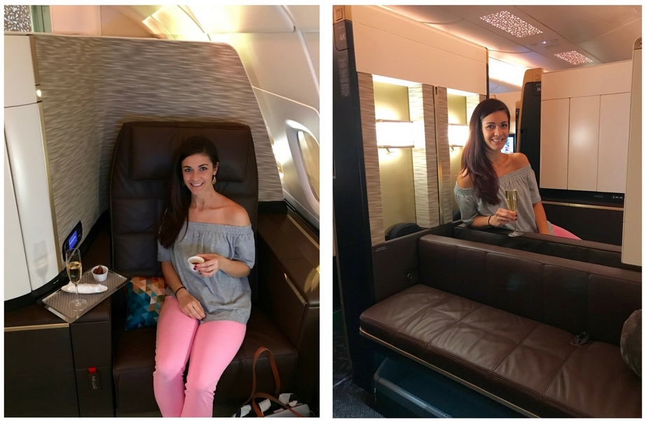 Etihad First Class Apartment - Preflight Service