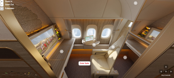 New Emirates First Class Virtual Tour