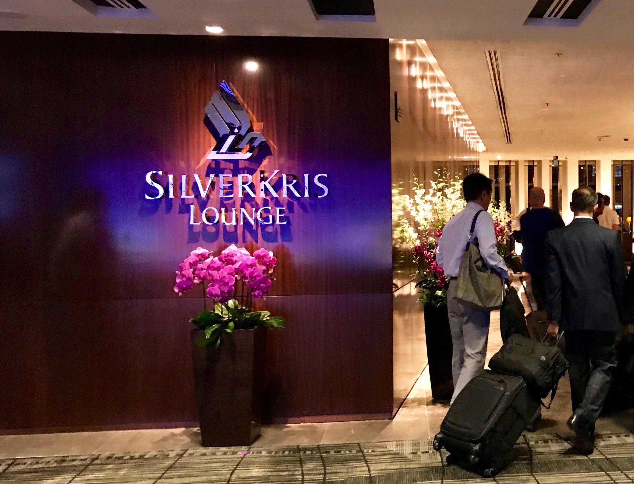 SilverKris Lounge SIN