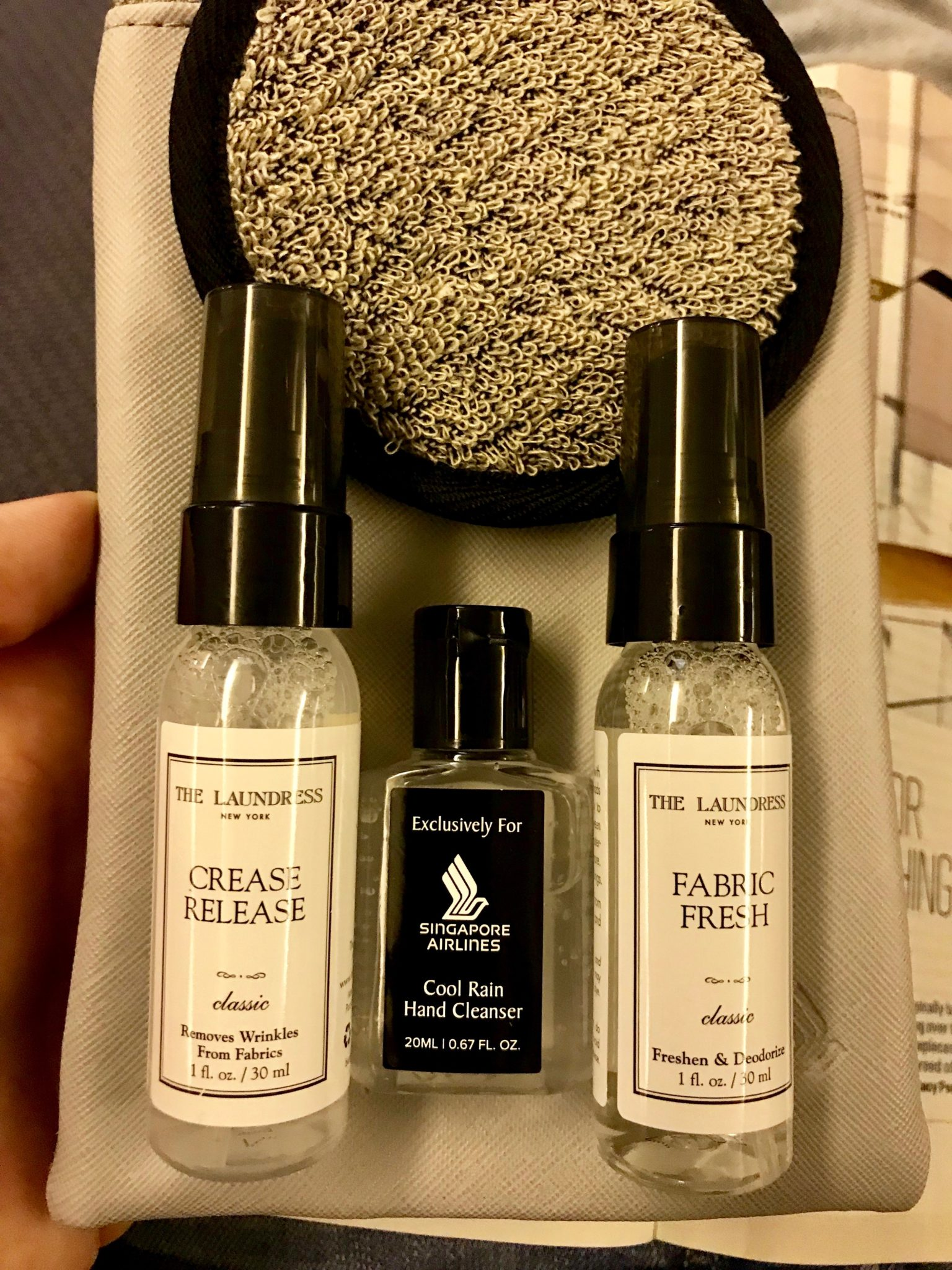 Singapore Airlines Business Class 777 - Amenities Kit