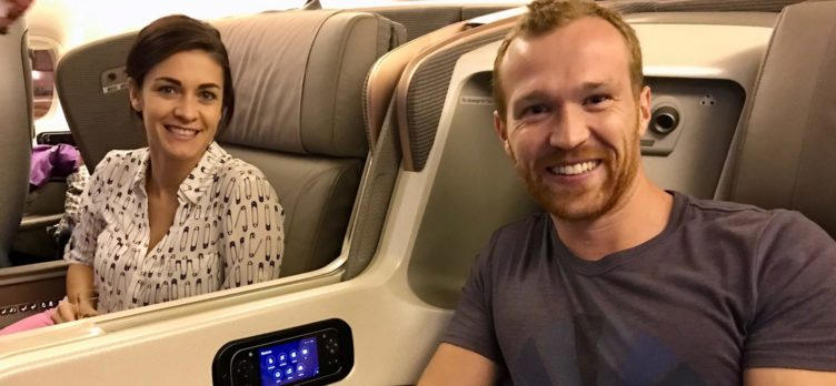 Singapore Airlines Business Class 777 - Pre Flight