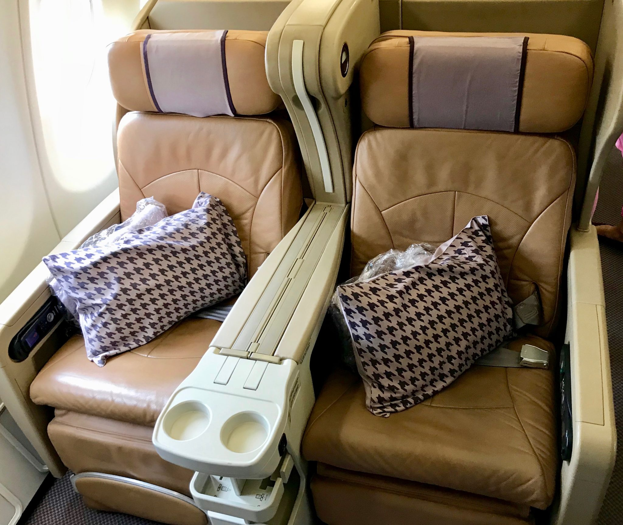 Singapore Airlines Business Class A330 - Business Seats (1)