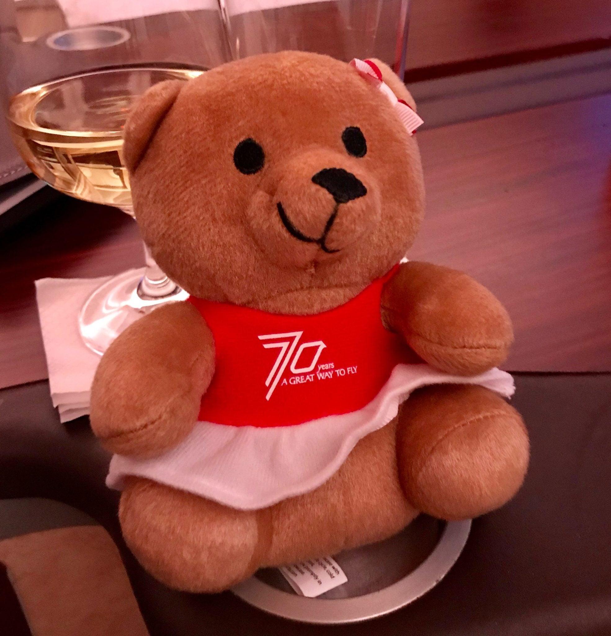 Singapore Suites First Class - Bear