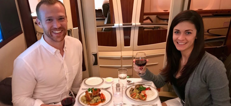 Singapore Suites First Class - Couples Dining