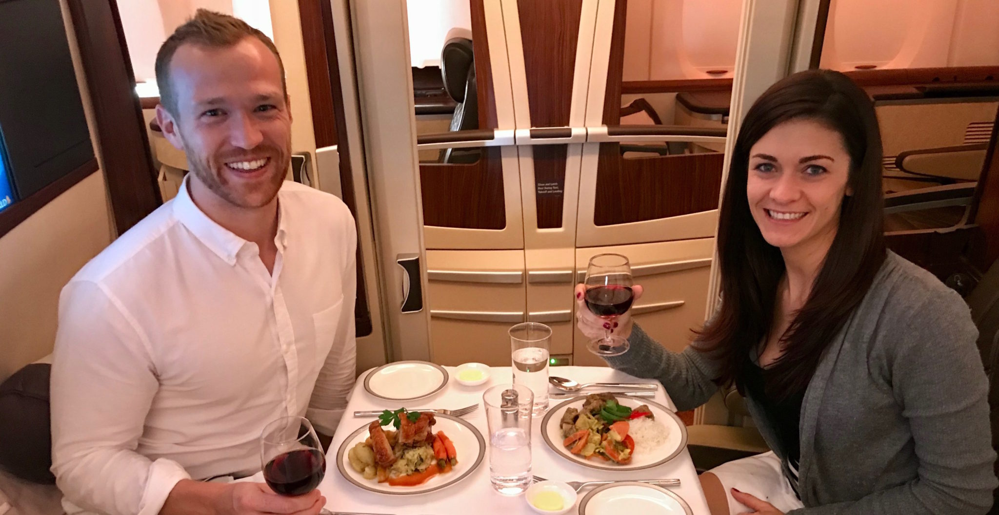 Singapore Suites First Class A380 Review - JFK to FRA to SIN