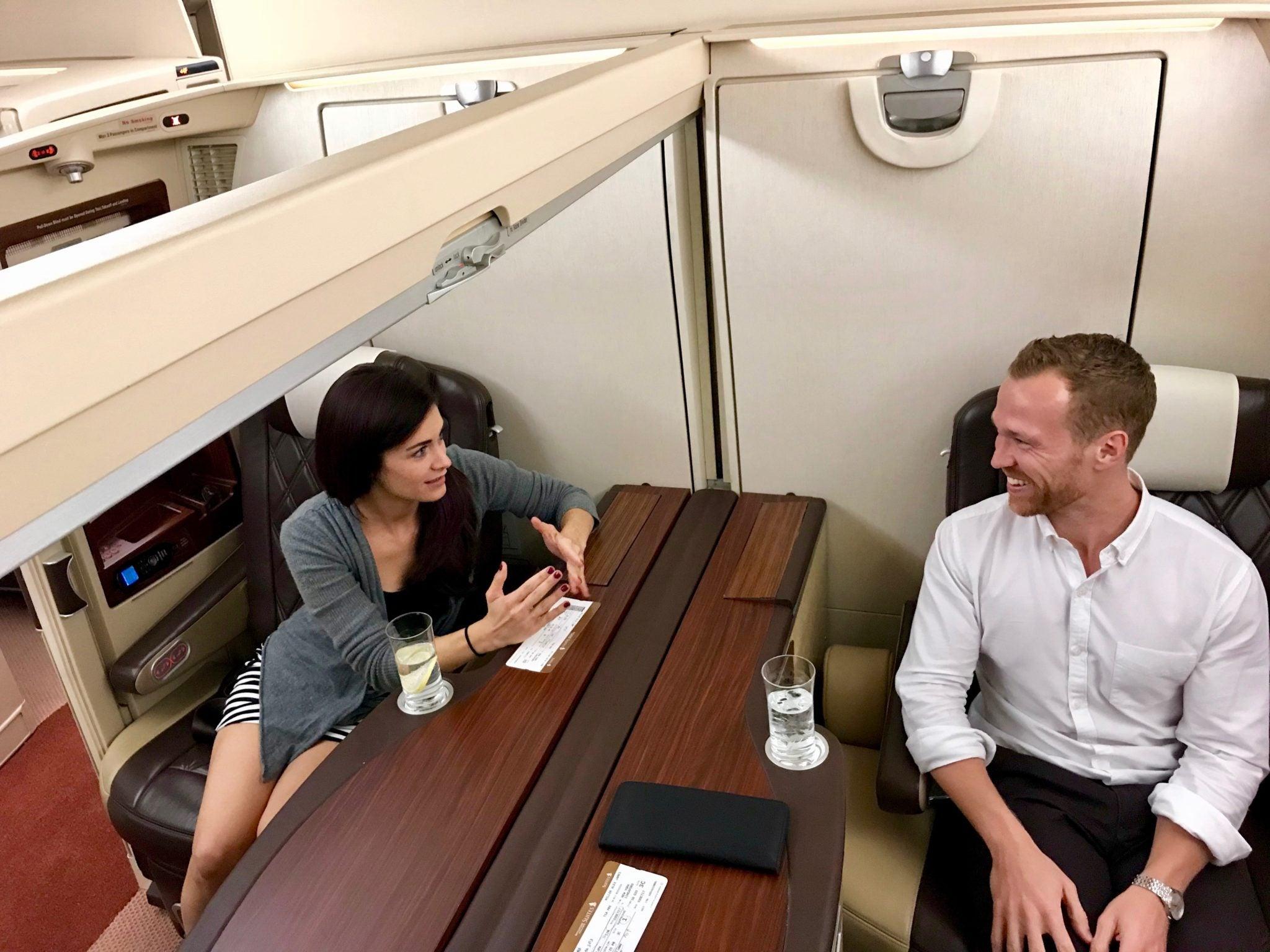 Singapore Suites First Class - Pre Flight