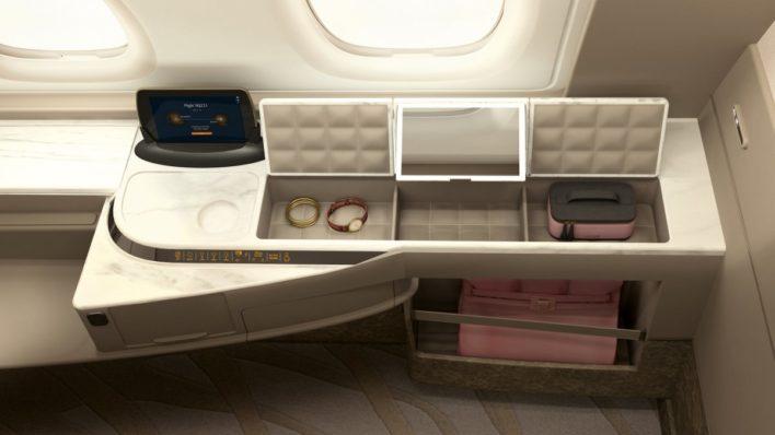 Singapore Suites Extras A380
