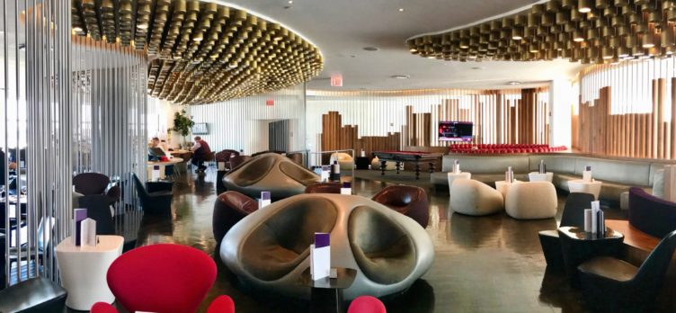 Virgin Atlantic Clubhouse JFK View