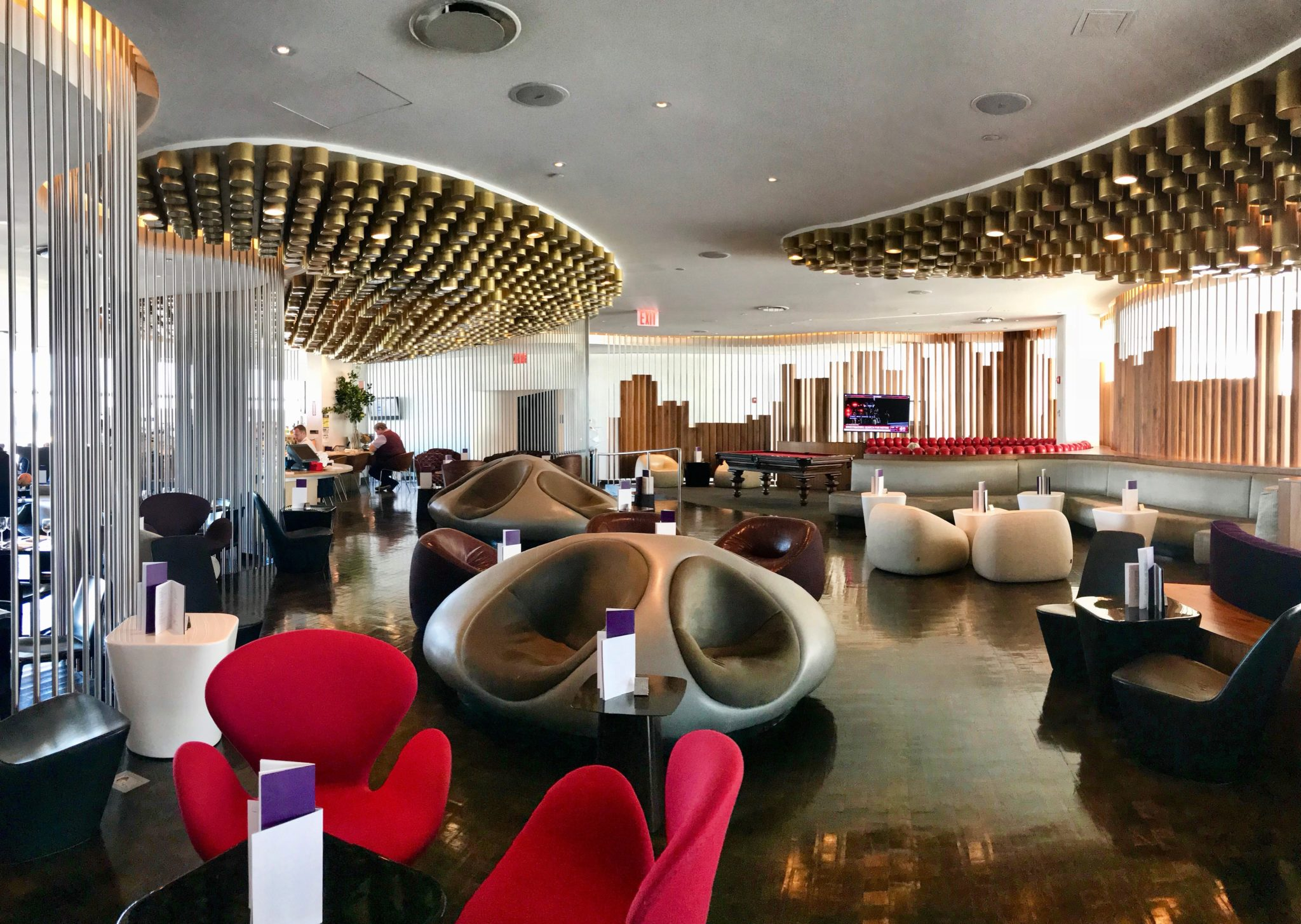 Virgin Atlantic Clubhouse JFK View