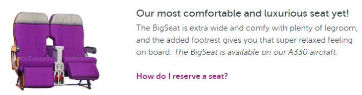 WOW The BigSeat