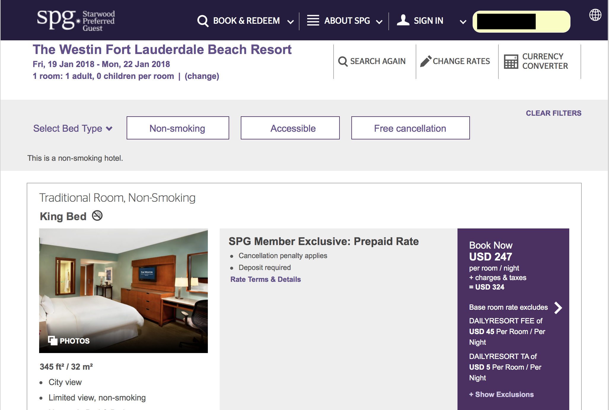 limited time starwood spg points with 35 discount