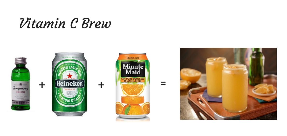 Airplane Cocktails - Beer Cocktail