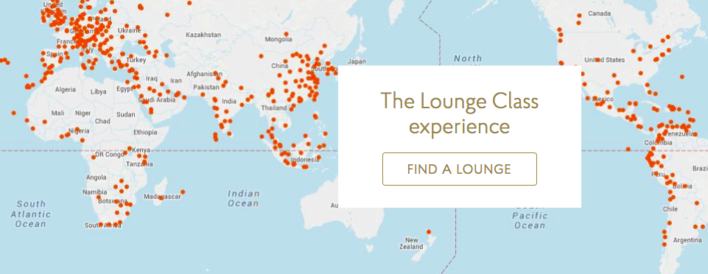 Priority Pass Lounge Locations