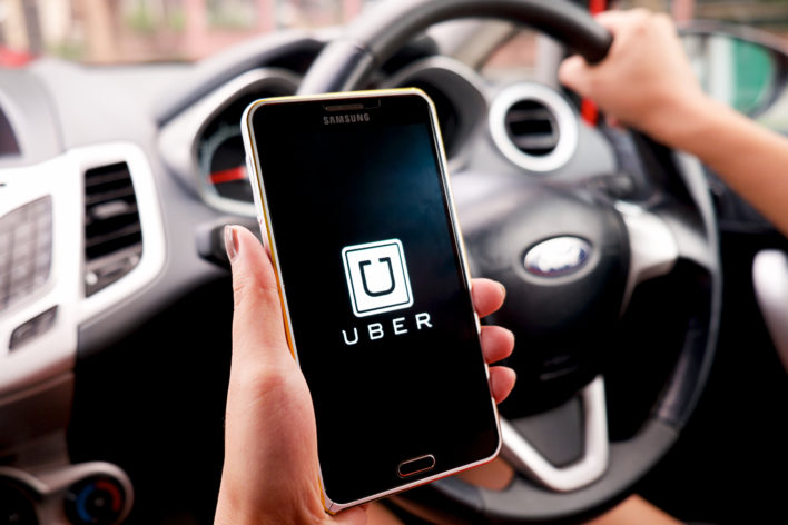 Uber Phone Car