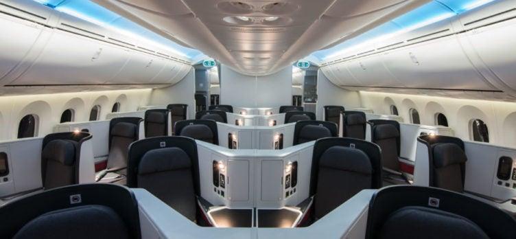 Avianca Vuela 787 Business Class