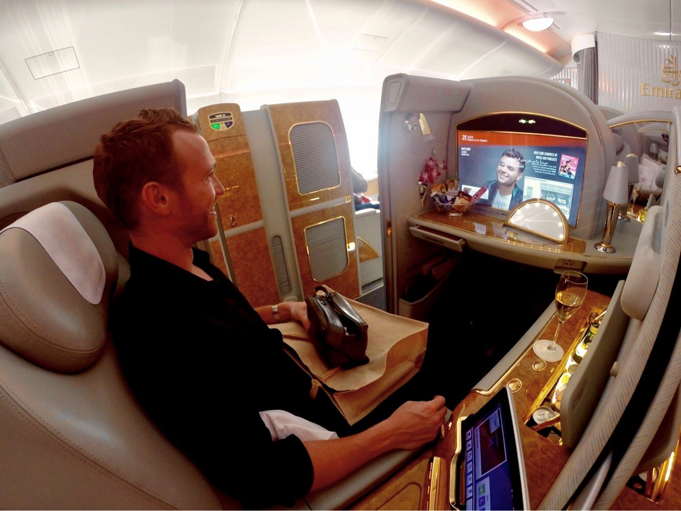 Super Emirates A380 First Class Review Dubai To Los Angeles 2019 Theyellowbook Wood Chair Design Ideas Theyellowbookinfo