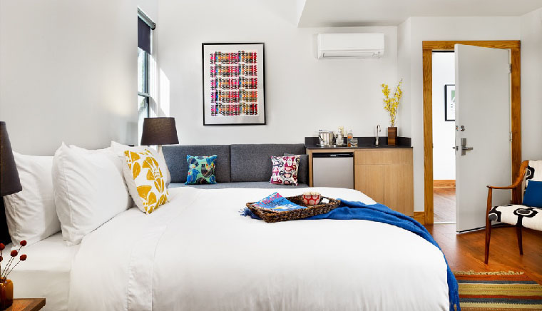 Great Boutique Hotels In Texas Under 200 Per Night Heywood Hotel Austin