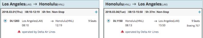 Korean Air Hawaii Award