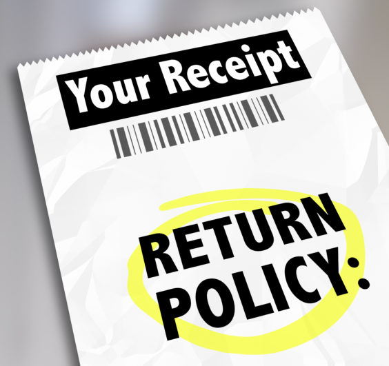 Generic Return Policy