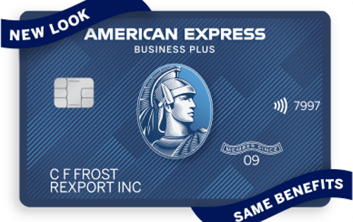 The Amex Blue Business Plus Card