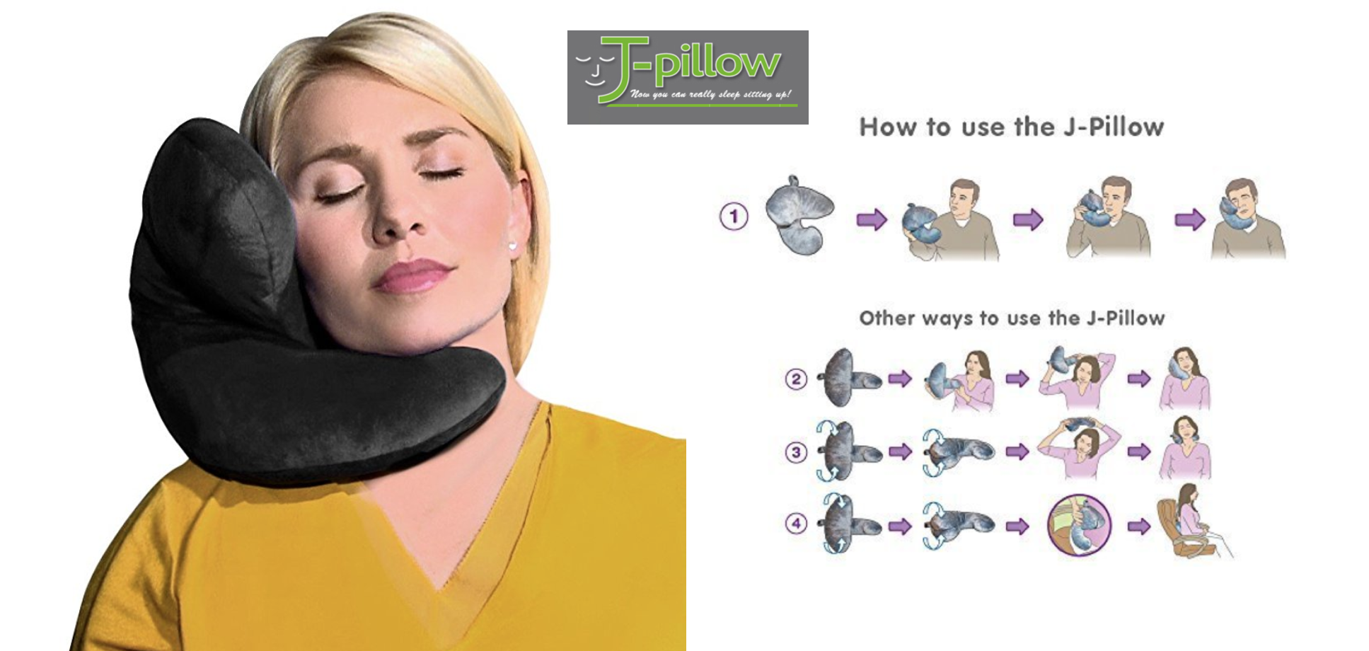 J-pillow - Best Travel Pillows On The Market