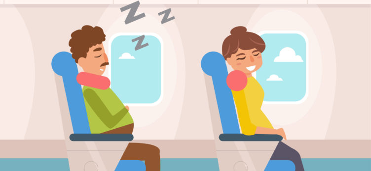 Sleeping On Airplanes - Best Travel Pillows On The Market