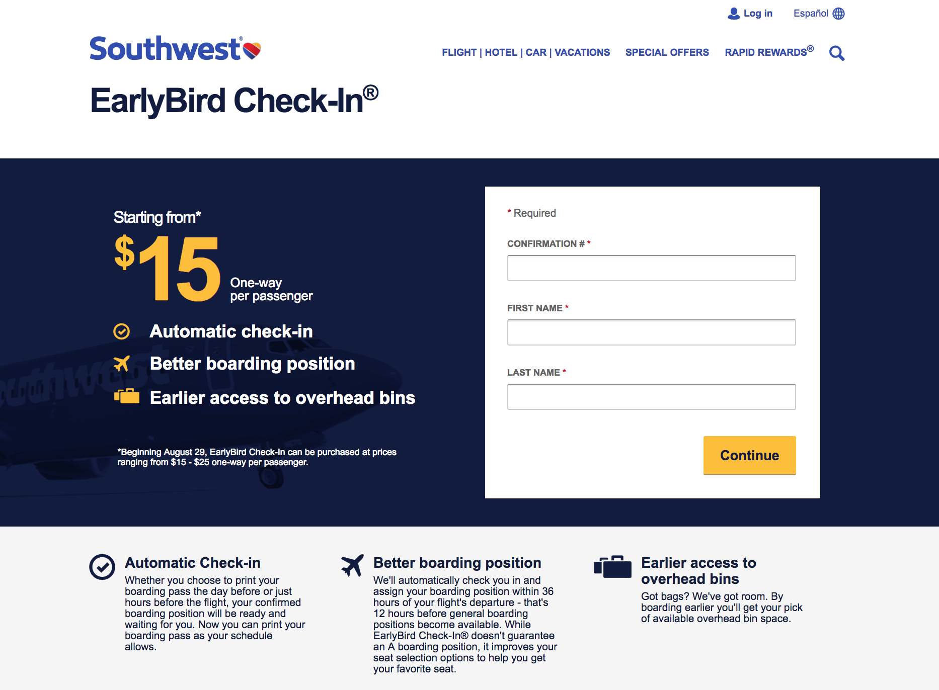 What Is Southwest Early Bird Check In Do I Really Need It 2020