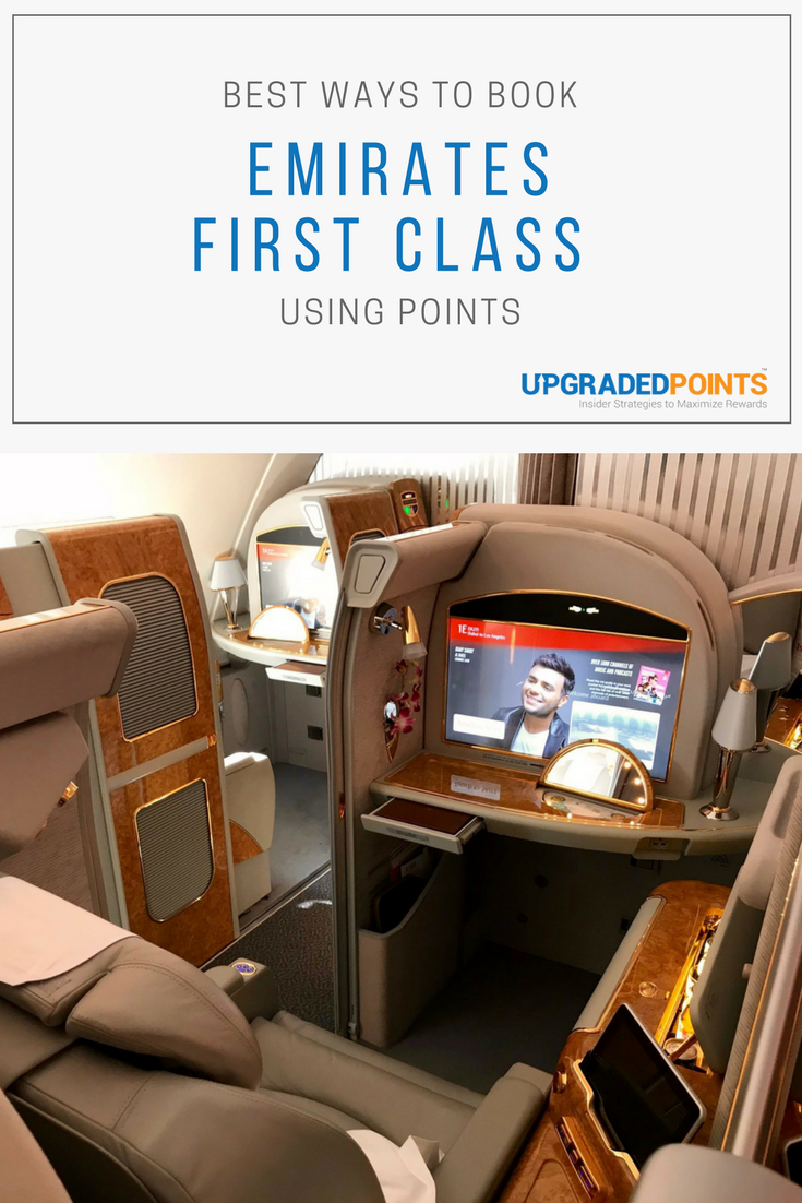 Best Ways to Book Emirates First Class Using Points