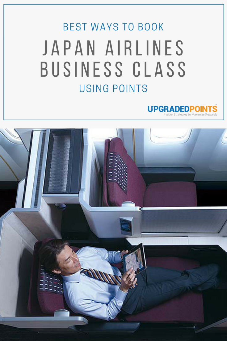 Best Ways to Book Japan Airlines Business Class Using Points