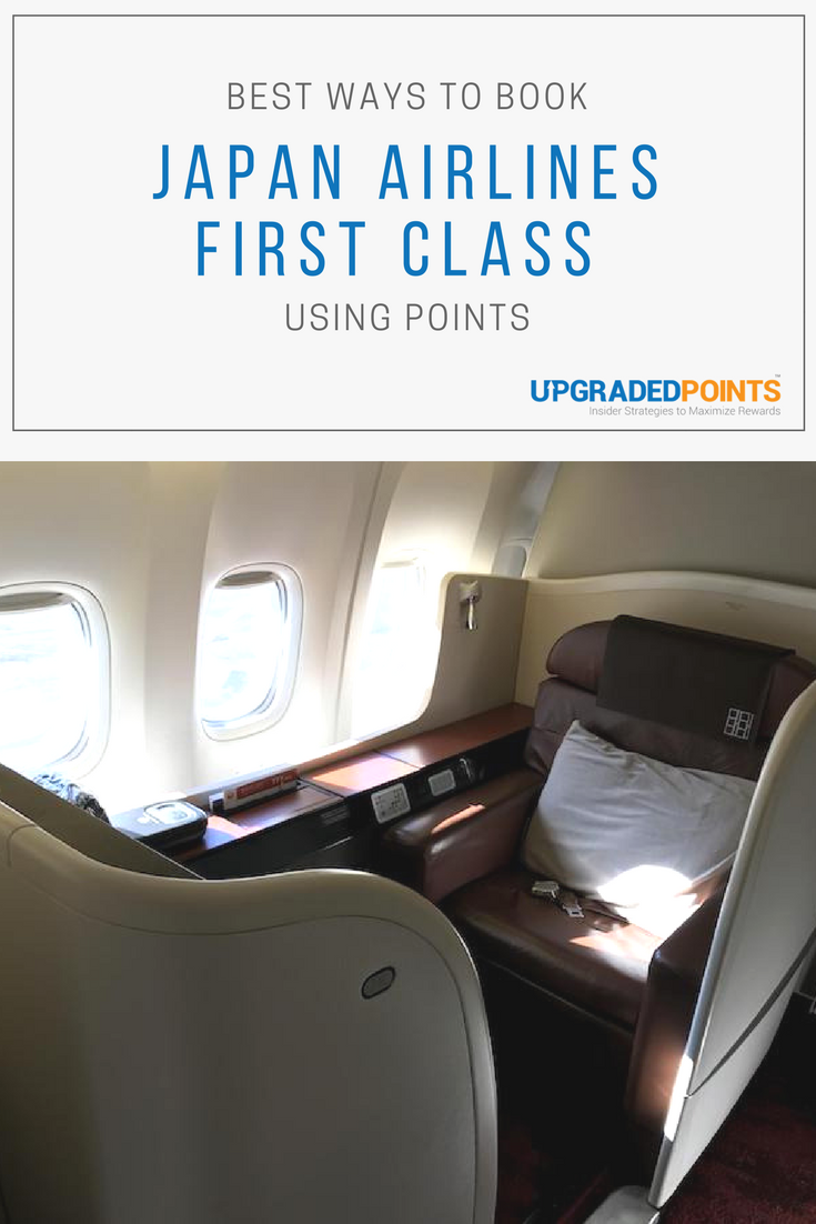 Best Ways To Book Japan Airlines First Class With Points