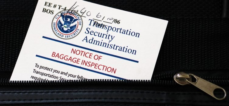 TSA Bag Inspection