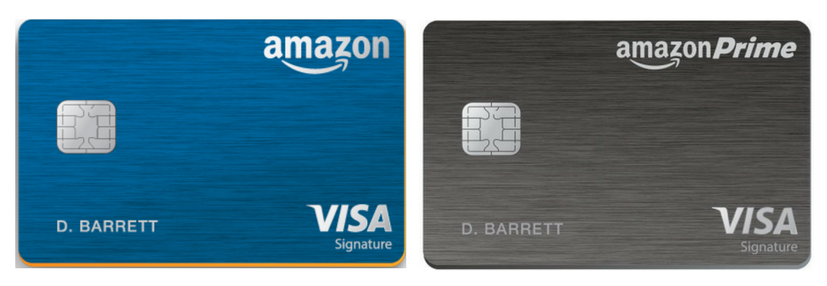 Amazon Credit Cards - Amazon Rewards vs The Prime Rewards