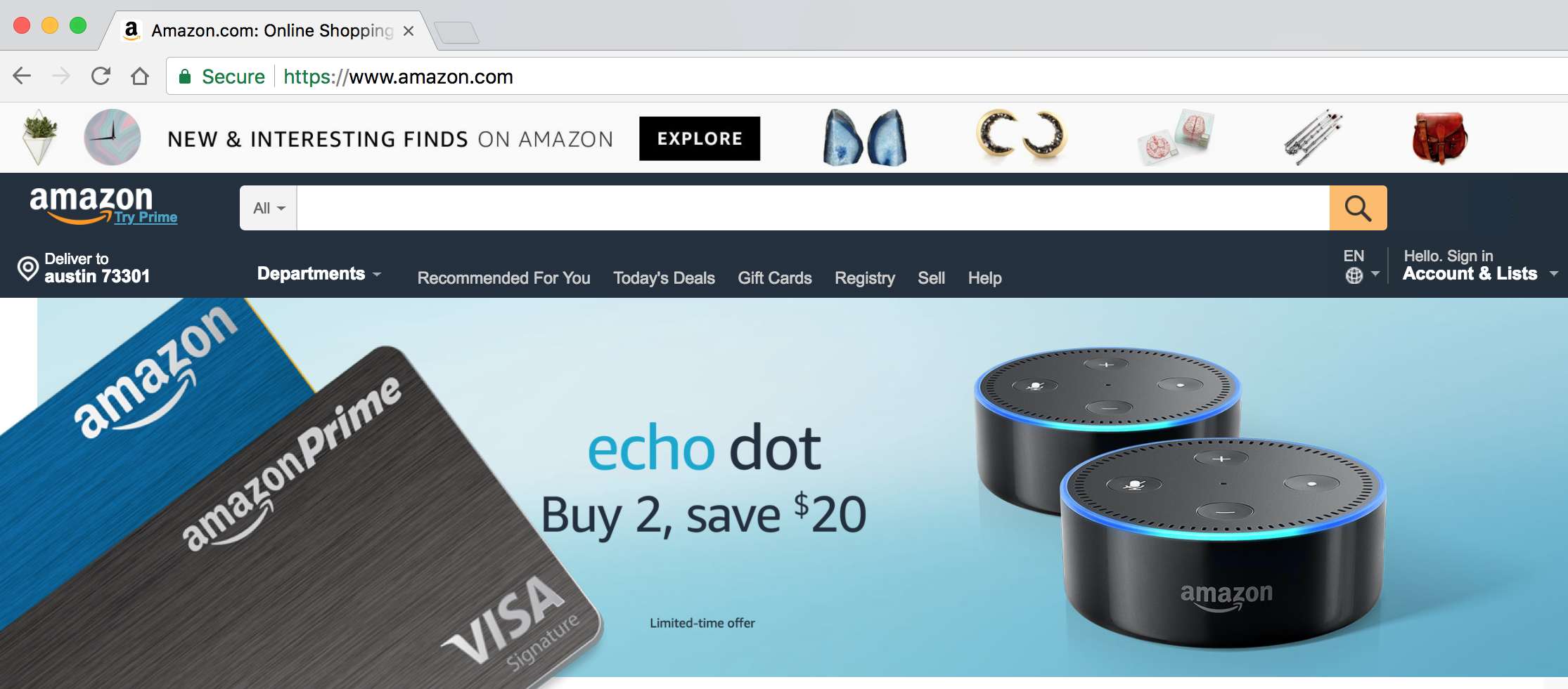 Amazon Credit Cards - Amazon Rewards vs The Prime Rewards Card [8]