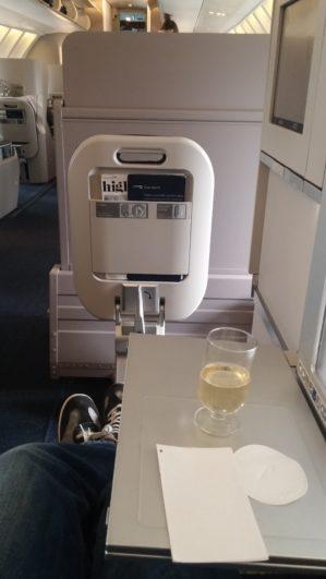 British Airways 747 Business Class Upper Deck