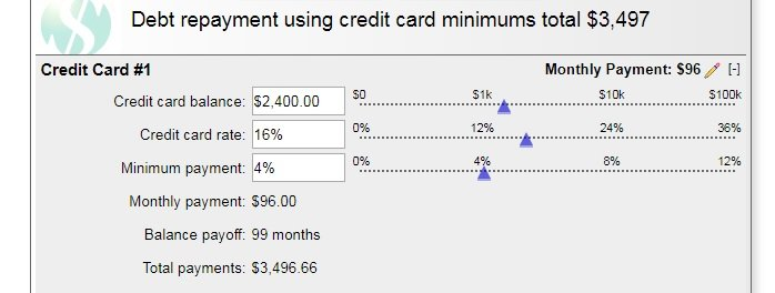 how to calculate interest on a credit card