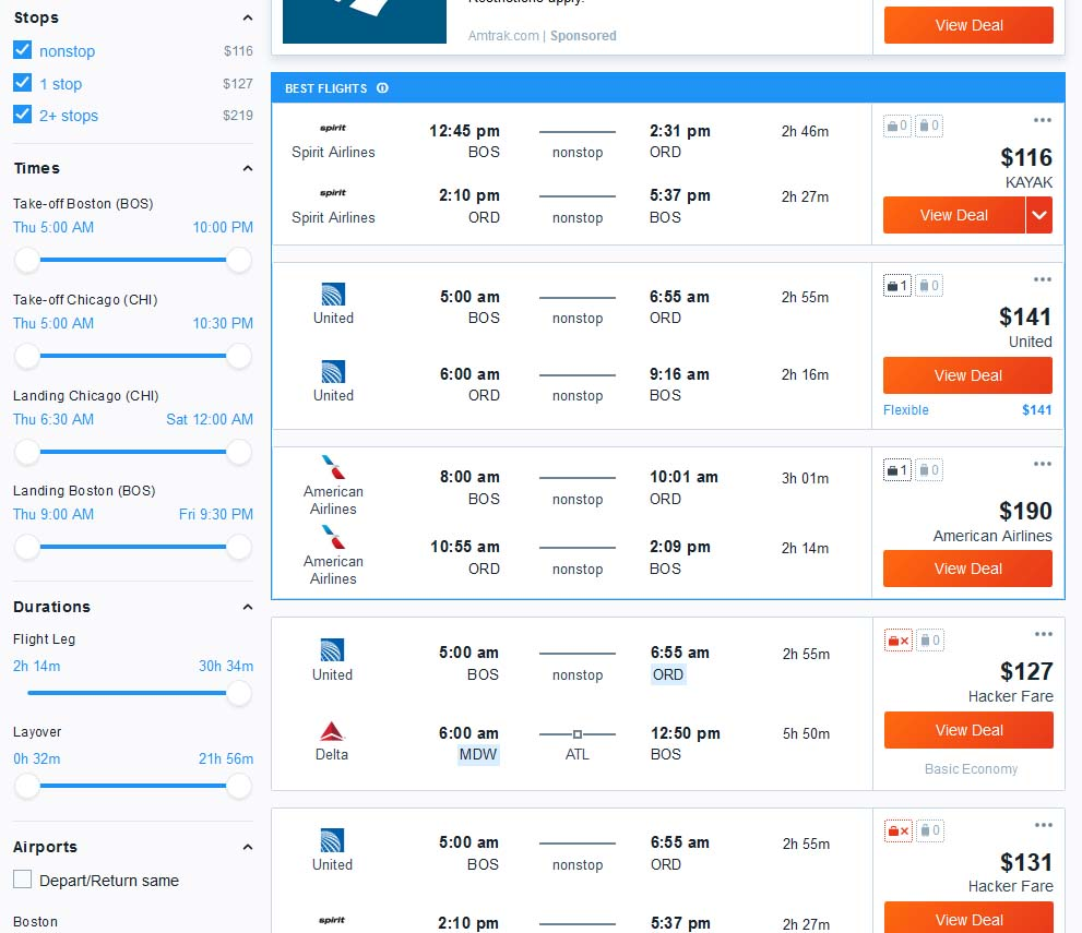 Complete Guide to Booking Travel With Kayak - Is It Worth It? [2019]