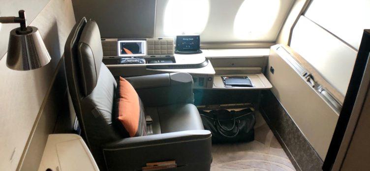 New Singapore Suites A380