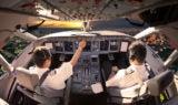 Pilots in Cockpit - Longest Nonstop Flights In The World