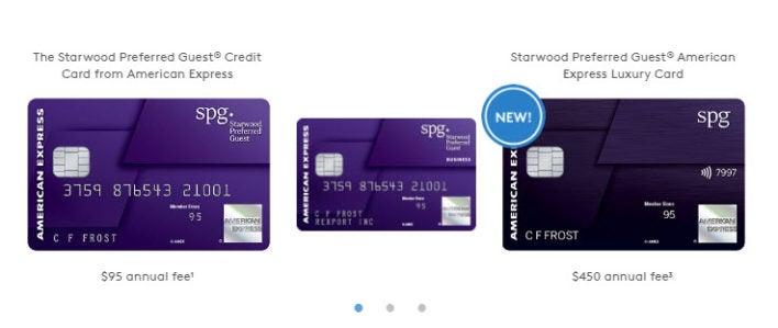SPG Credit Cards