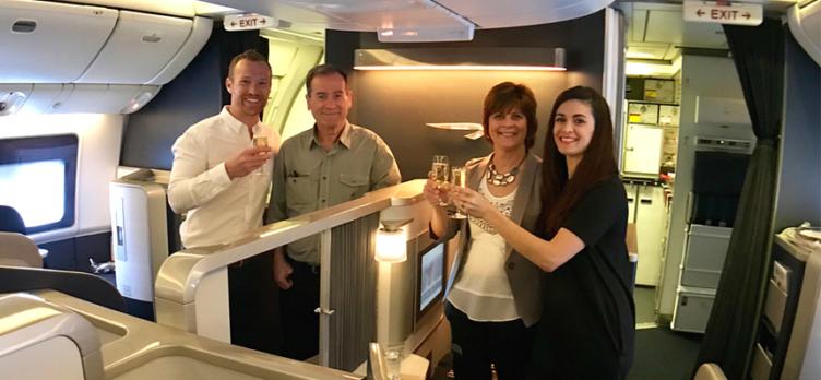 British Airways First Class - Europe Trip 2018