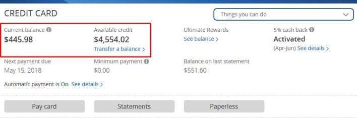How To Find Your Chase Credit Limit